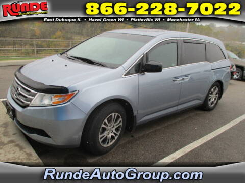 2012 Honda Odyssey for sale at Runde Chevrolet in East Dubuque IL