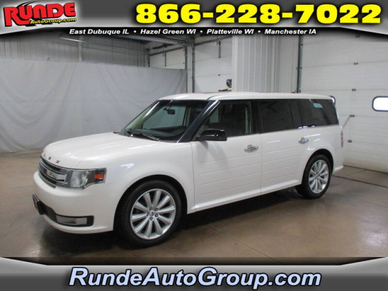 2015 Ford Flex for sale at Runde Chevrolet in East Dubuque IL