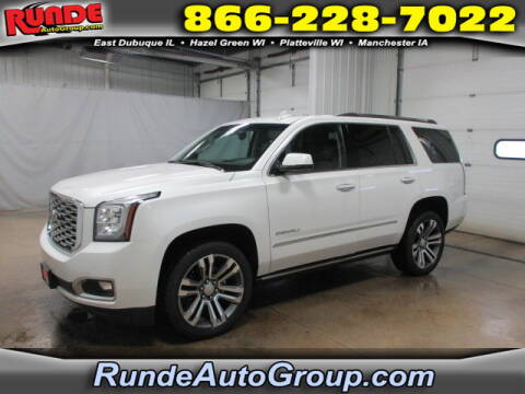 2019 GMC Yukon for sale at Runde Chevrolet in East Dubuque IL