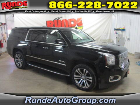 2017 GMC Yukon XL for sale at Runde Chevrolet in East Dubuque IL