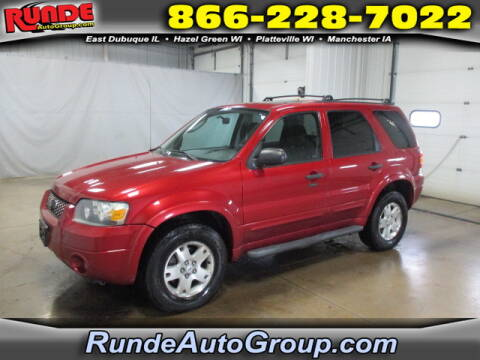 2007 Ford Escape for sale at Runde Chevrolet in East Dubuque IL