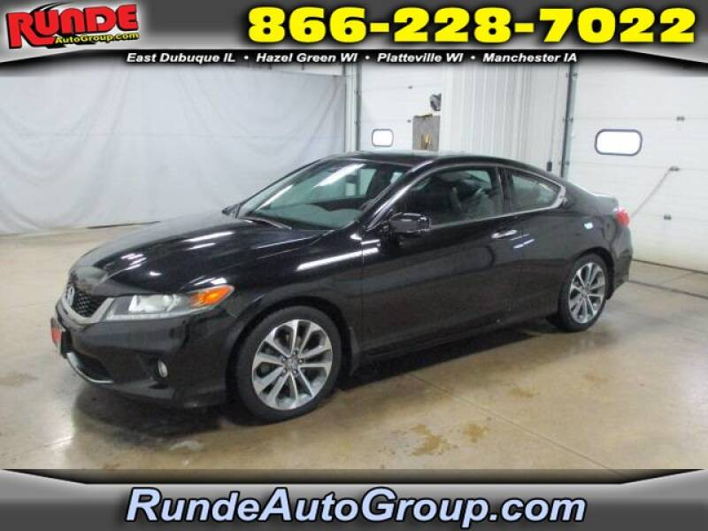 2013 Honda Accord for sale at Runde Chevrolet in East Dubuque IL