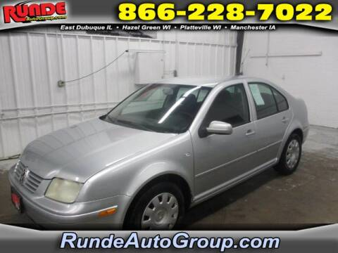 2003 Volkswagen Jetta for sale at Runde Chevrolet in East Dubuque IL