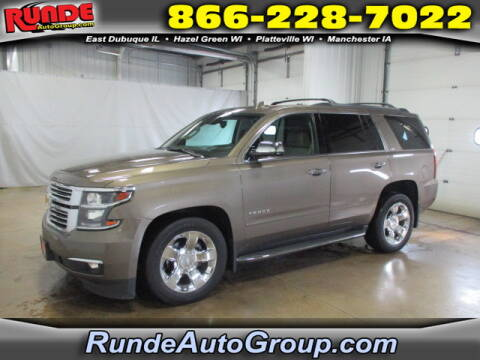 2015 Chevrolet Tahoe for sale at Runde Chevrolet in East Dubuque IL