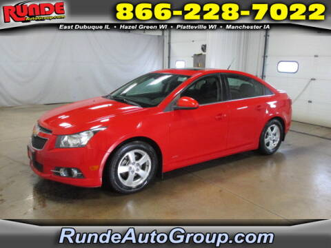 2012 Chevrolet Cruze for sale at Runde Chevrolet in East Dubuque IL