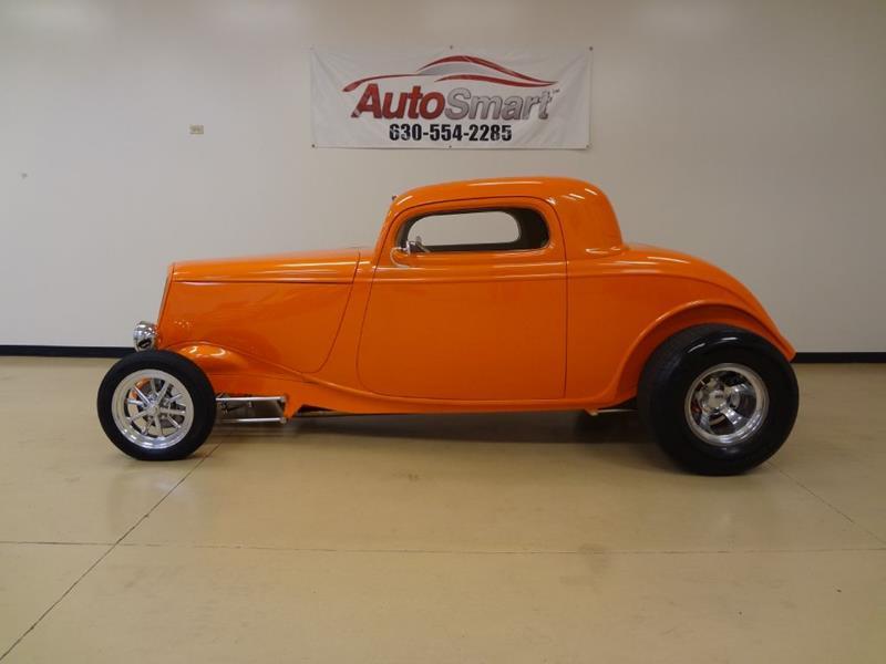 1934 ford delxue coupe in oswego il autosmart. Black Bedroom Furniture Sets. Home Design Ideas