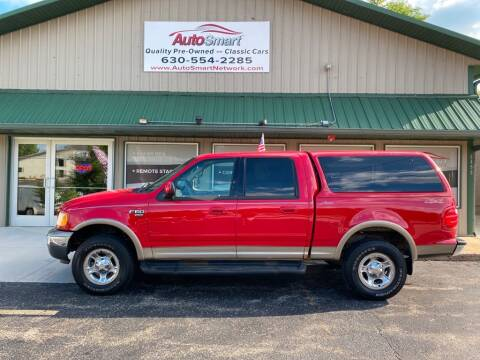 2001 Ford F-150 for sale at AutoSmart in Oswego IL