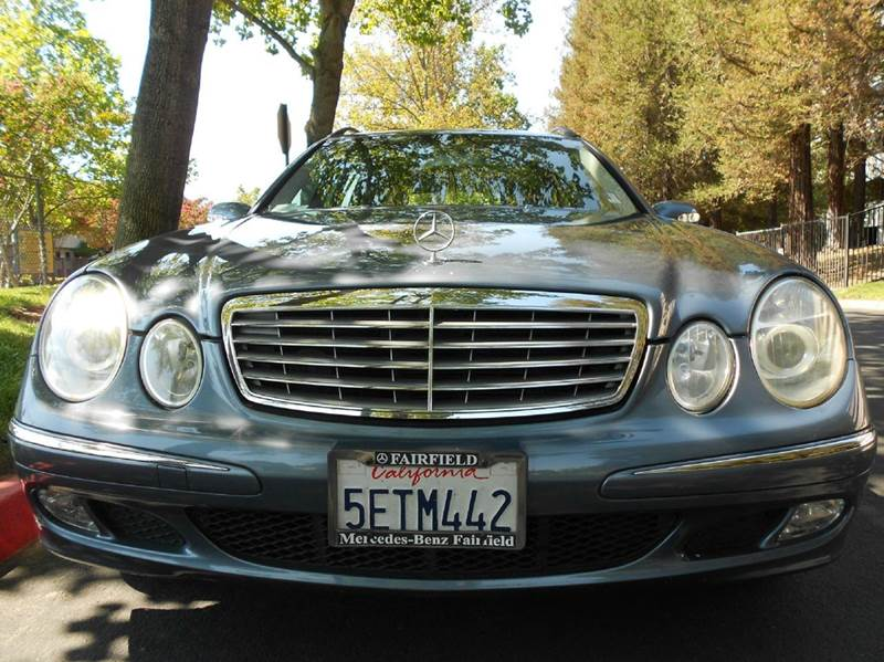2004 Mercedes-Benz E-Class for sale at Moto Auto Sale in Sacramento CA