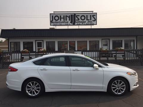2017 Ford Fusion for sale in Idaho Falls, ID