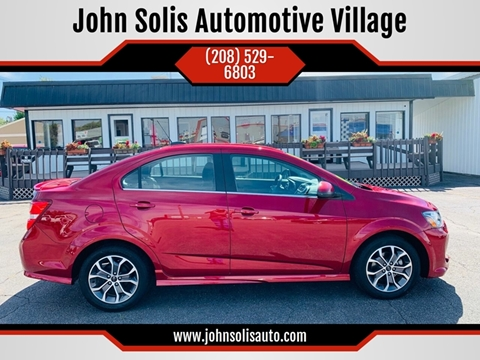 2018 Chevrolet Sonic for sale in Idaho Falls, ID