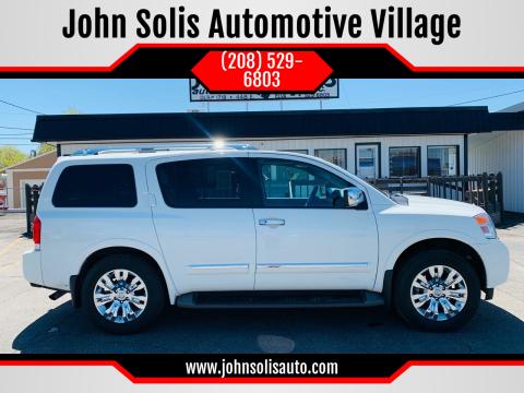 2015 Nissan Armada Platinum for sale at John Solis Automotive Village in Idaho Falls ID
