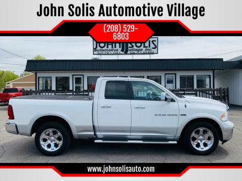 2012 RAM Ram Pickup 1500 Laramie for sale at John Solis Automotive Village in Idaho Falls ID