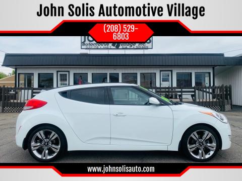 2013 Hyundai Veloster for sale at John Solis Automotive Village in Idaho Falls ID