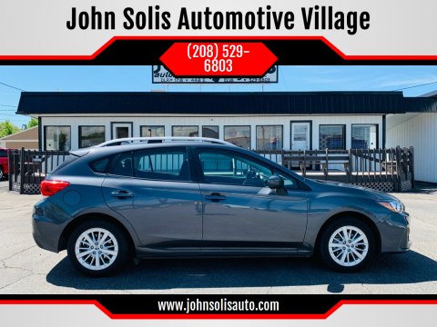 2018 Subaru Impreza Premium for sale at John Solis Automotive Village in Idaho Falls ID