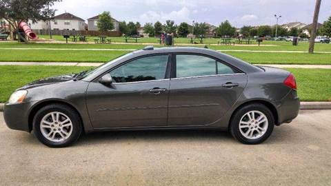 2005 Pontiac G6 for sale at Discount Auto Mart LLC in Houston TX