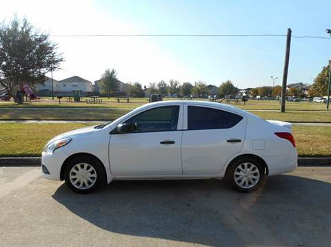 2015 Nissan Versa for sale at Discount Auto Mart LLC in Houston TX