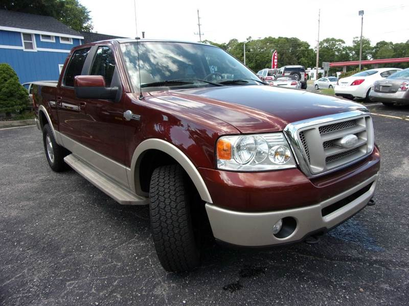 2007 Ford F-150 King Ranch 4dr SuperCrew 4x4 Styleside 6.5 ft. SB - Toms River NJ