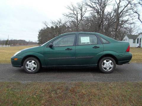 2001 Ford Focus for sale at Riverside Auto Sales in Saint Croix Falls WI