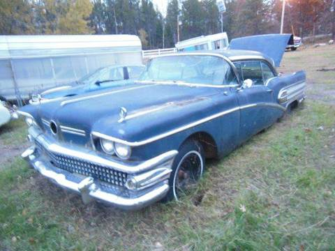 1958 Buick Century for sale at Riverside Auto Sales in Saint Croix Falls WI