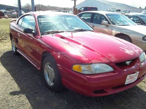 1998 Ford Mustang for sale at Riverside Auto Sales in Saint Croix Falls WI