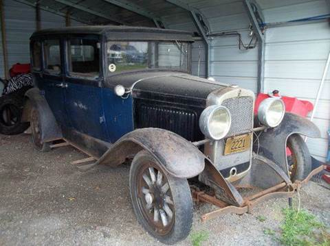1929 Nash 4 DOOR for sale at Riverside Auto Sales in Saint Croix Falls WI