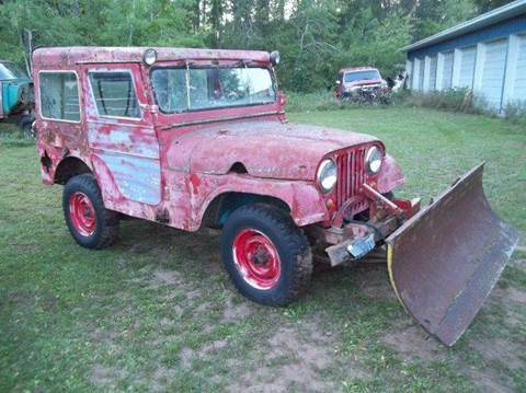 1960 Jeep CJ-5 for sale at Riverside Auto Sales in Saint Croix Falls WI