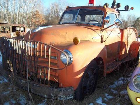 1950 Chevrolet tow truck for sale at Riverside Auto Sales in Saint Croix Falls WI