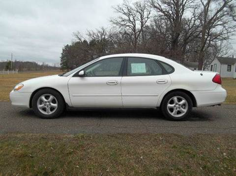 2001 Ford Taurus for sale at Riverside Auto Sales in Saint Croix Falls WI