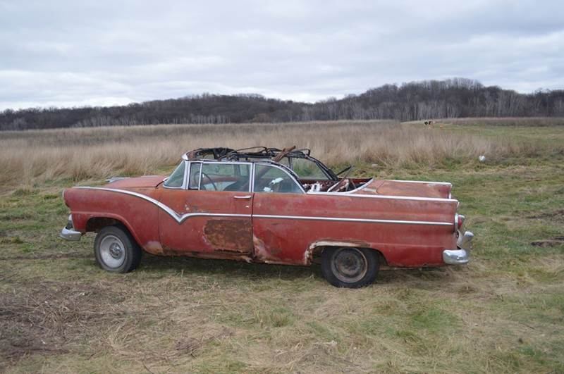 1955 Ford Fairlane for sale at Riverside Auto Sales in Saint Croix Falls WI