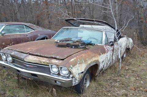 1968 Chevrolet Chevelle Malibu for sale at Riverside Auto Sales in Saint Croix Falls WI