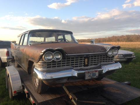 1959 Plymouth Savoy for sale at Riverside Auto Sales in Saint Croix Falls WI