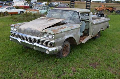 1959 Ford Ranchero for sale at Riverside Auto Sales in Saint Croix Falls WI