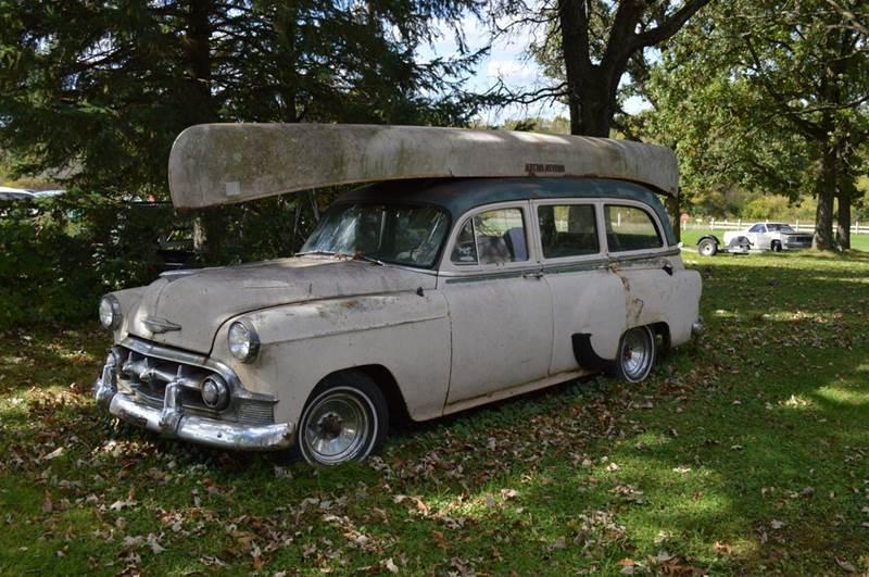 1953 Chevrolet Fleetline for sale at Riverside Auto Sales in Saint Croix Falls WI