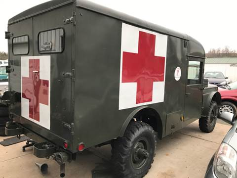 1967 Jeep Ambulance  for sale at Riverside Auto Sales in Saint Croix Falls WI
