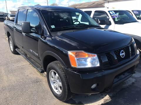 2012 Nissan Titan for sale in Gaylord, MI