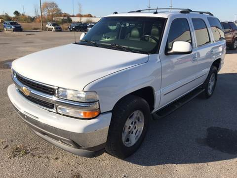 2005 Chevrolet Tahoe for sale in Gaylord, MI