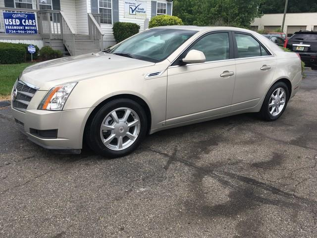 2009 CADILLAC CTS 36L V6 AWD 4DR SEDAN W 1SA platinum leather moon roof awd only 13000 mile