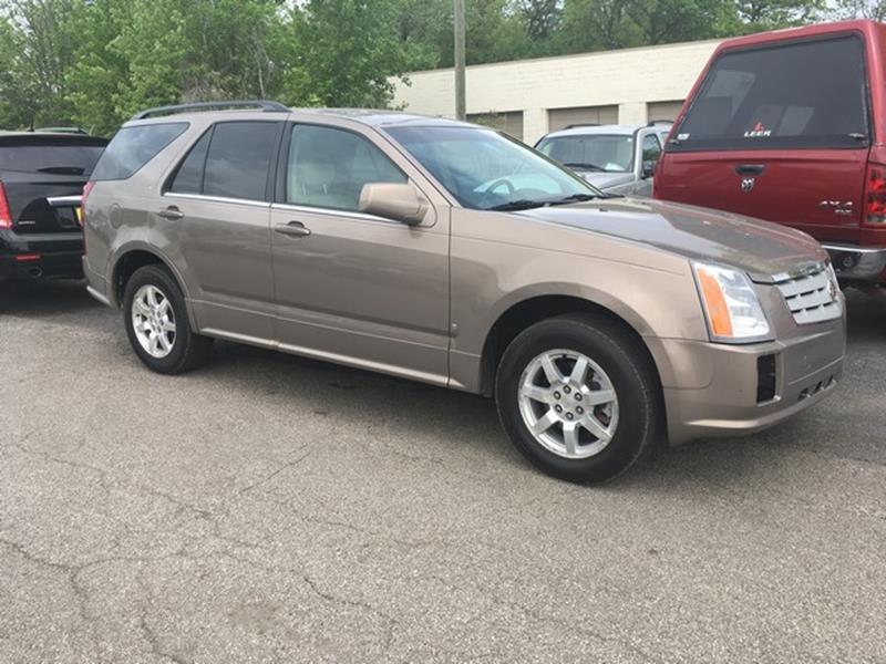 2007 CADILLAC SRX V6 AWD 4DR SUV  36 6CYL 5A  tan leather v6 all power just in call now fo