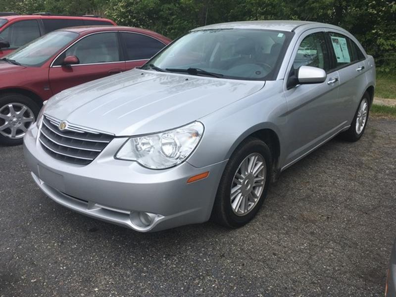 2007 CHRYSLER SEBRING LIMITED 4DR SEDAN silver leather low miles 4 cylinder limited call now