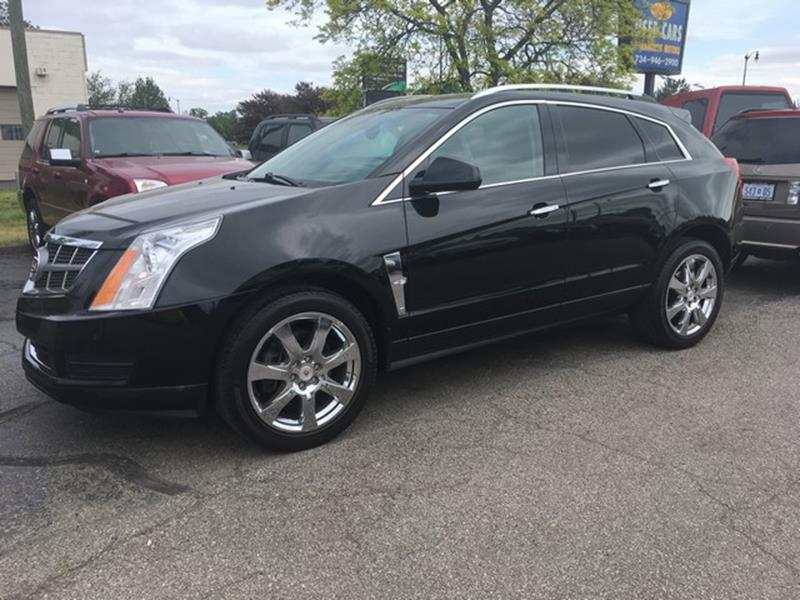 2010 CADILLAC SRX LUXURY COLLECTION 4DR SUV black luxury trim leather fully loaded v6 call no