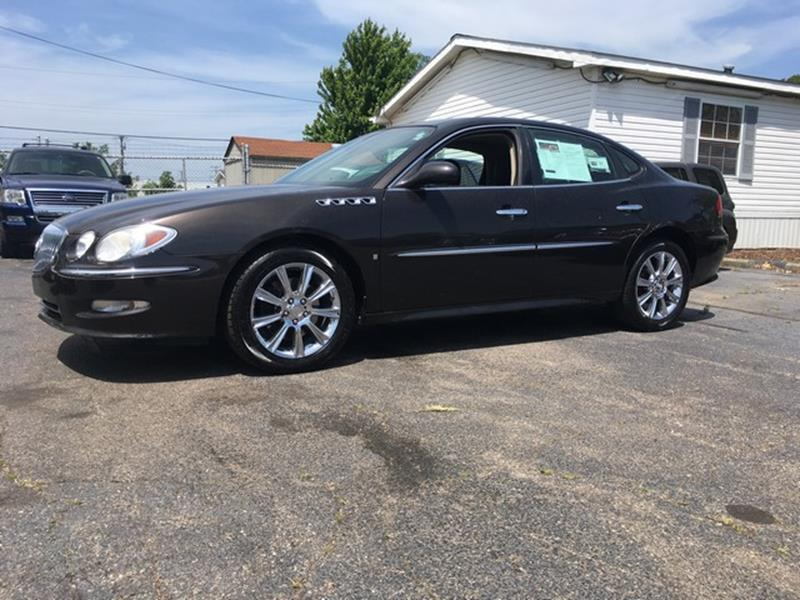 2008 BUICK LACROSSE SUPER 4DR SEDAN brown chrome wheels moon roof all power cd super charged