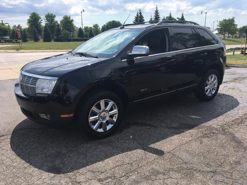 2007 LINCOLN MKX BASE 4DR SUV black leather fwd lots of options just in air conditioning 4 w