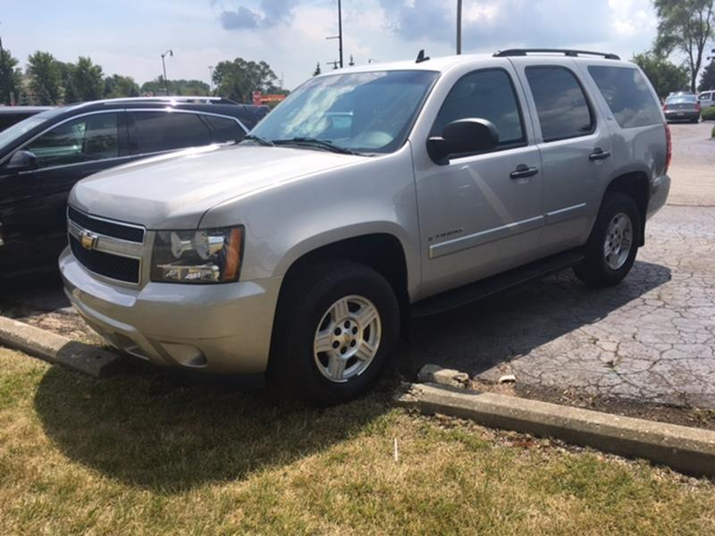 2008 CHEVROLET TAHOE LS 4X2 4DR SUV tan air conditioning 4 wheel standard abs daytime running l