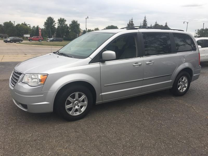 2010 CHRYSLER TOWN AND COUNTRY TOURING 4DR MINI VAN silver air conditioning 4 wheel standard abs