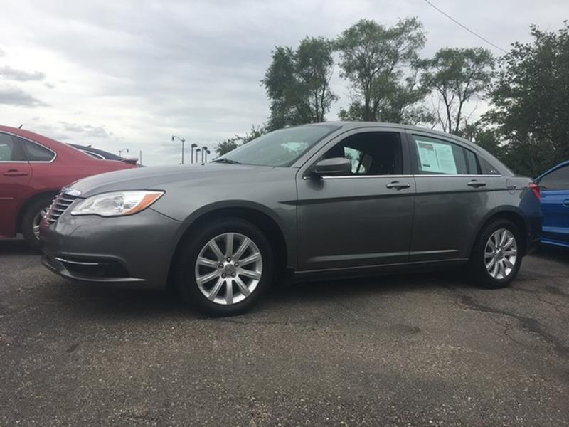 2011 CHRYSLER 200 TOURING 4DR SEDAN gray cloth interior all power automatic fwd air conditioni