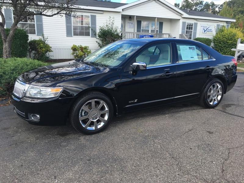 2008 LINCOLN MKZ BASE 4DR SEDAN black air conditioning 4 wheel standard abs power brakes power