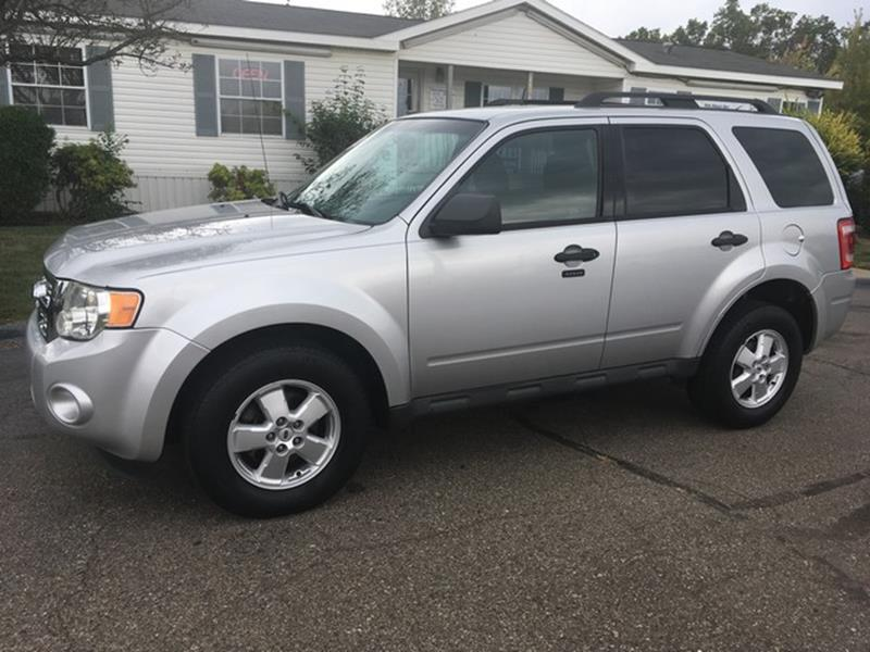 2010 FORD ESCAPE XLT 4DR SUV silver air conditioning 4 wheel standard abs power brakes power w