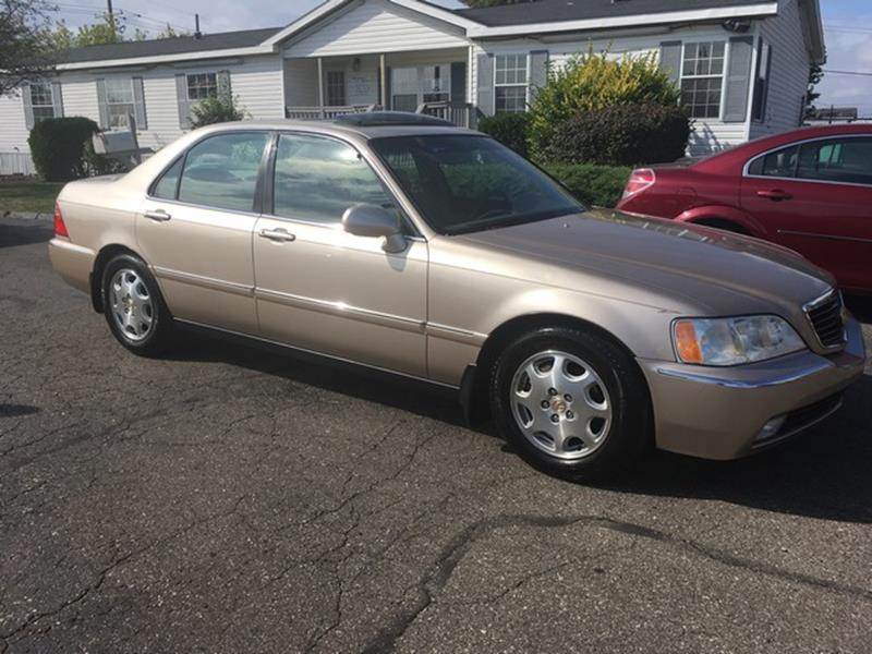 1999 ACURA RL 35 4DR SEDAN gold air conditioning 4 wheel standard abs power brakes power wind