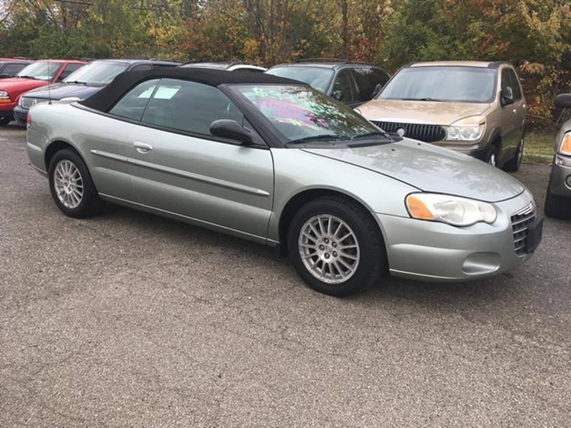 2006 CHRYSLER SEBRING TOURING 2DR CONVERTIBLE silver air conditioning power brakes power window