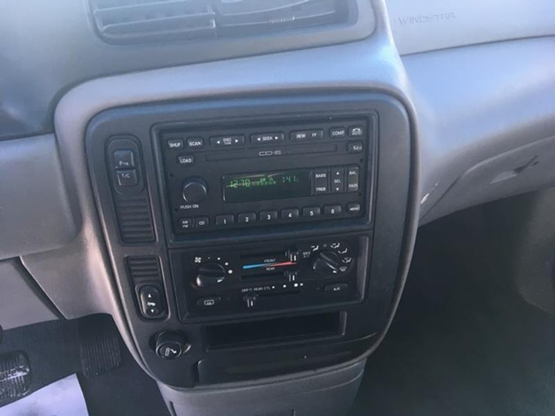 2002 Ford Windstar Detroit Used Car for Sale